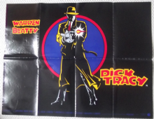 Dick Tracy, Original DS UK Quad Poster, Warren Beatty, Madonna, '90